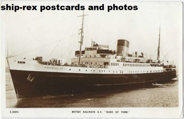 DUKE OF YORK (1935b, British Railways) postcard